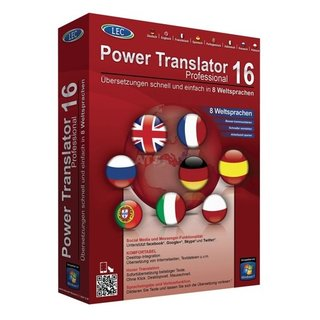 Avanquest LEC - Power Translator 16 Professional Vollversion MiniBox