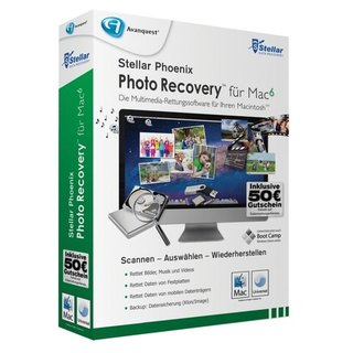 Stellar Photo Recovery 6 für Mac 1 Benutzer | 1 Mac Vollversion MiniBox