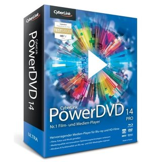 CyberLink PowerDVD 14 Pro Vollversion MiniBox