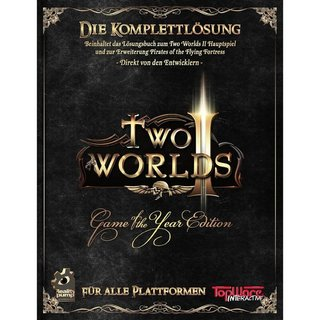 TopWare Interactive AG Two Worlds II Game of the Year Edition Lösungsbuch - Deutsch