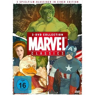 KochMedia Marvel Classics (3 DVDs)