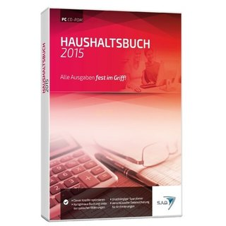 S.A.D. Haushaltsbuch 2015 Vollversion DVD-Box