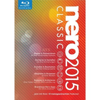 Nero AG Nero 2015 Classic Vollversion DVD-Box