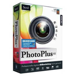 Serif PhotoPlus X6 Special Edition 1 PC Vollversion MiniBox