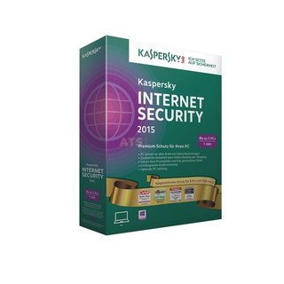 Kaspersky Internet Security 2015 Gold-Edition 5 PCs Vollversion MiniBox 1 Jahr inkl. Update 2018*