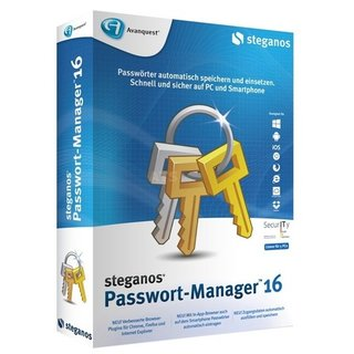 Steganos Passwort Manager 16 5 PCs Vollversion MiniBox