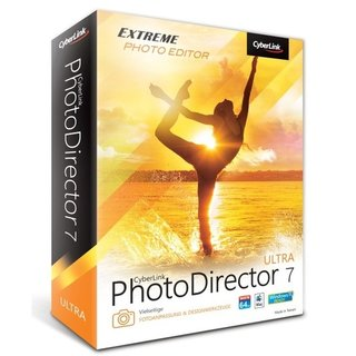 CyberLink PhotoDirector 7 Ultra 1 Benutzer | 1 PC oder Mac Vollversion MiniBox