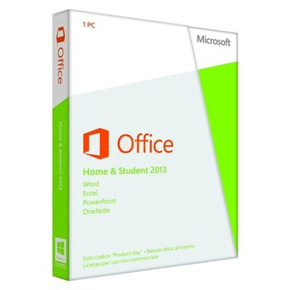 Microsoft Office Home and Student 2013 (IT) 1 PC Vollversion PKC