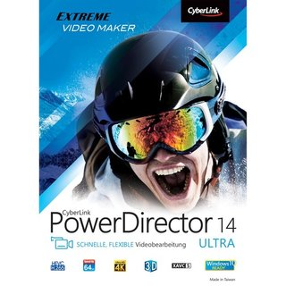CyberLink PowerDirector 14 Ultra 1 PC Vollversion ESD ( Online Download )