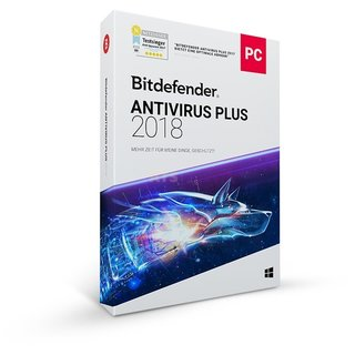 Bitdefender Antivirus Plus 3 PCs Vollversion EFS PKC 1 Jahr
